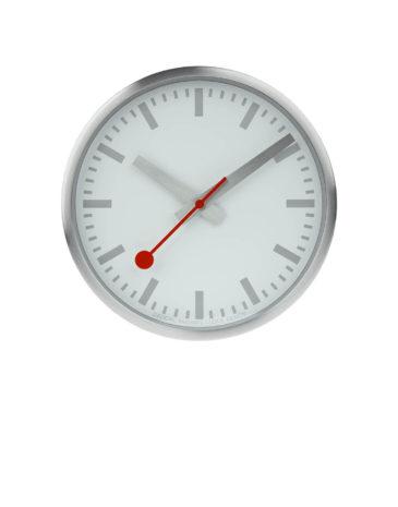 Mondaine SBB Clock Pure